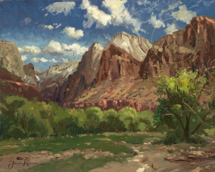 Zion National Park – Limited Edition Canvas