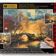 Thomas Kinkade Central Park in the Fall Paint By Number