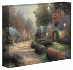 Cobblestone Lane – 8″ x 10″ Gallery Wrapped Canvas