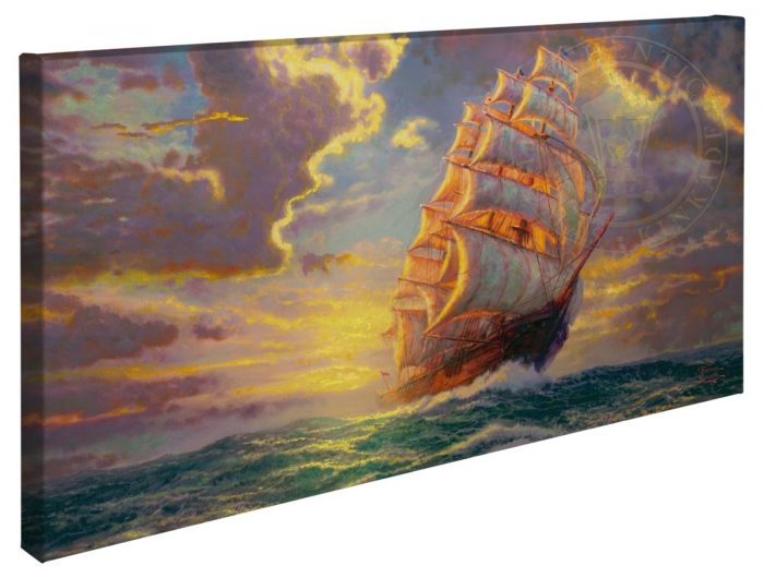 Courageous Voyage – 16″ x 31″ Gallery Wrapped Canvas