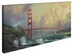 Golden Gate Bridge, San Francisco – 16″ x 31″ Gallery Wrapped Canvas