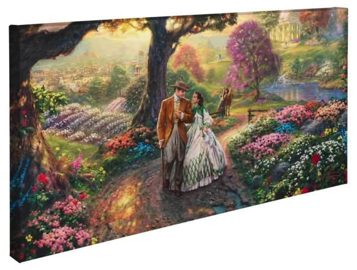 Gone with the Wind – 16″ x 31″ Gallery Wrapped Canvas
