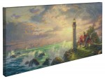 Guiding Light, The – 16″ x 31″ Gallery Wrapped Canvas