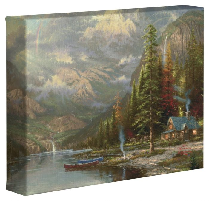 Mountain Majesty – 8″ x 10″ Gallery Wrapped Canvas