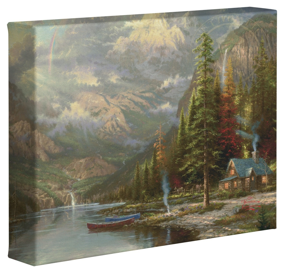 Mountain majesty 8 x 10 gallery wrapped canvas the for Mountain majesty