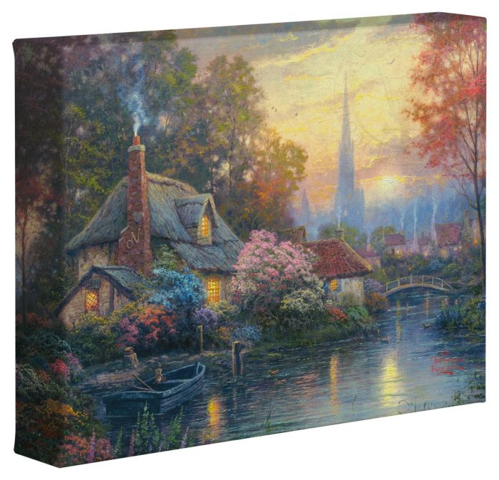 Nanette's Cottage – 8″ x 10″ Gallery Wrapped Canvas