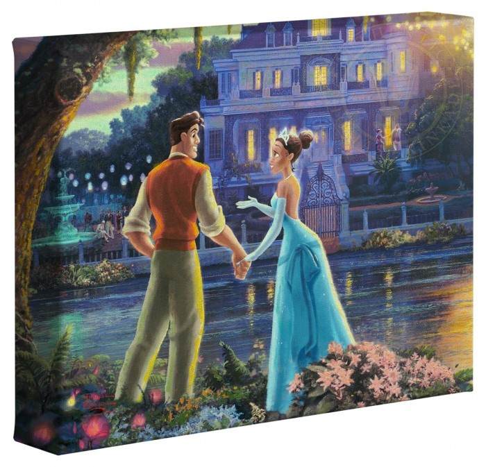 Princess and the Frog, The – 8″ x 10″ Gallery Wrapped Canvas