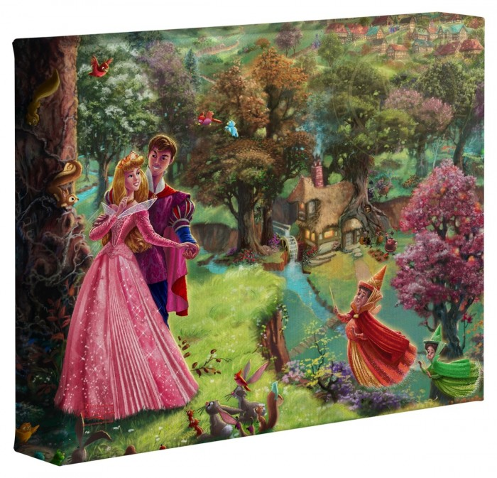 Sleeping Beauty – 8″ x 10″ Gallery Wrapped Canvas