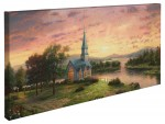 Sunrise Chapel – 16″ x 31″ Gallery Wrapped Canvas