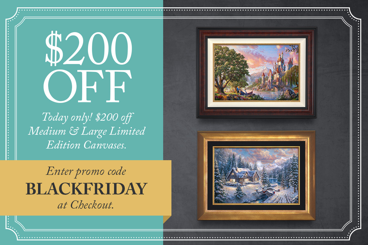 Thomas Kinkade Black Friday Sale 2014
