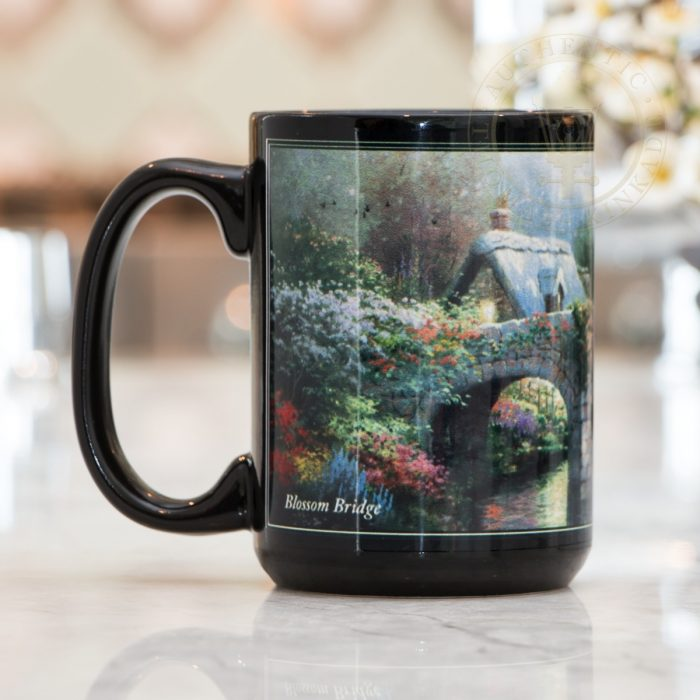 Blossom Bridge  –  Ceramic Mug, 15 oz