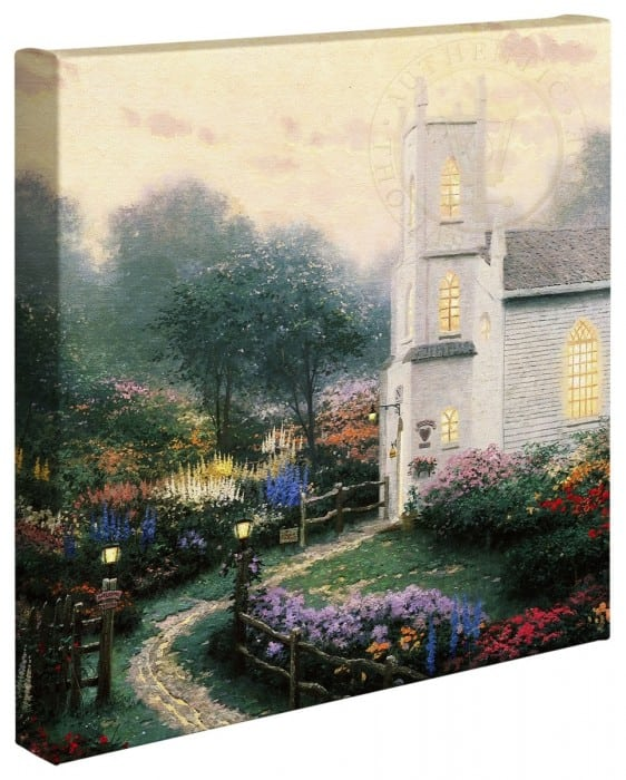 Blossom Hill Church – 14″ x 14″ Gallery Wrapped Canvas