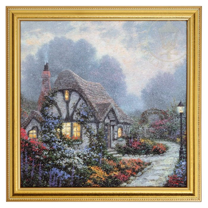 Chandler's Cottage – Framed Texture Print