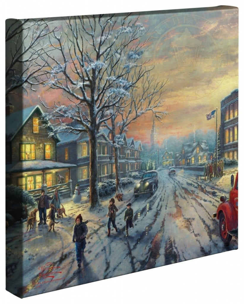 Christmas Story, A – 14″ x 14″ Gallery Wrapped Canvas