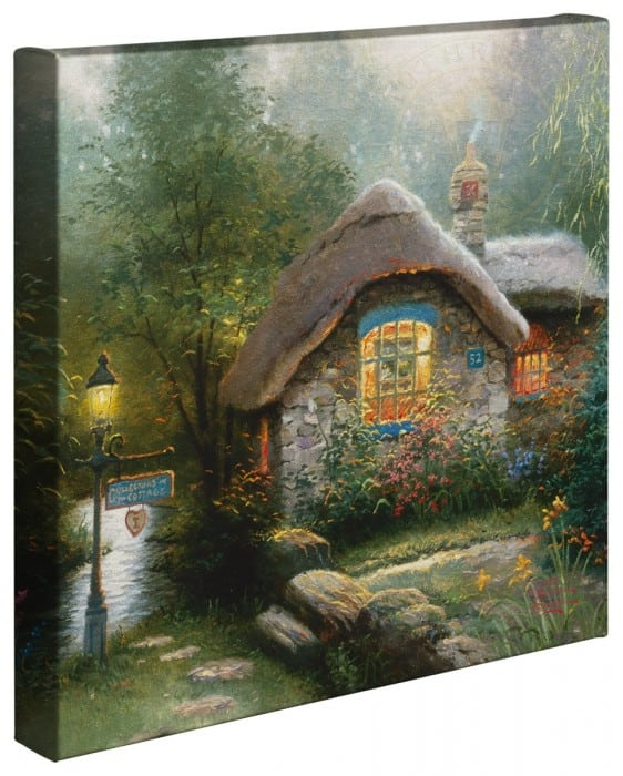 Collector's Cottage – 14″ x 14″ Gallery Wrapped Canvas