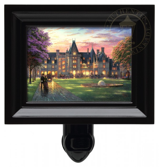 Elegant Evening at Biltmore®  – Nightlight (Black Frame)