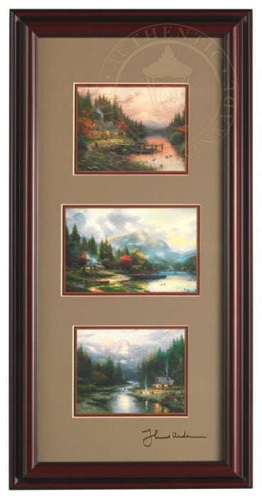 End of a Perfect Day Collection – Framed Portfolio (Brandy Black Frame)