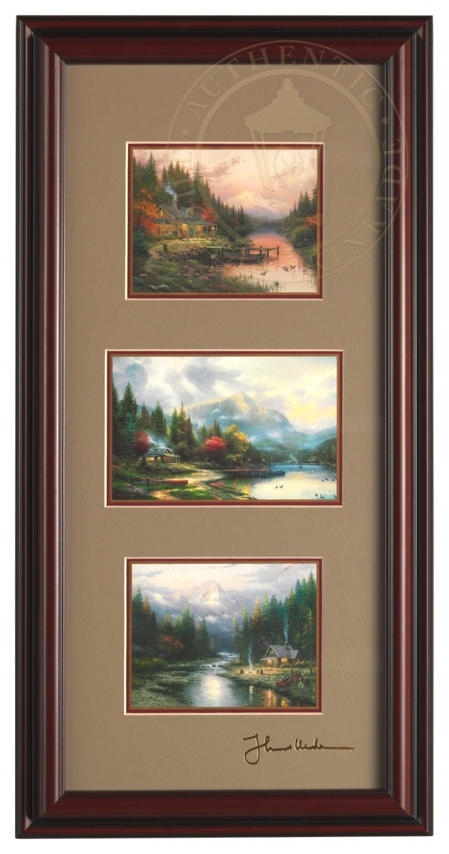 End Of A Perfect Day Collection Framed Portfolio Brandy Black
