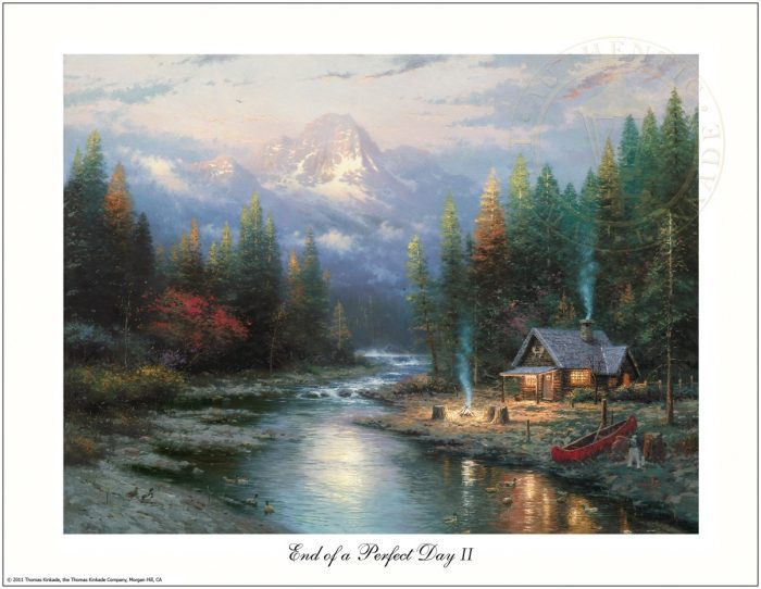 End of a Perfect Day II, The – 8.5″ x 11″ Archival Studio Print