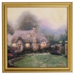 Evening at Merritt's Cottage – Framed Texture Print