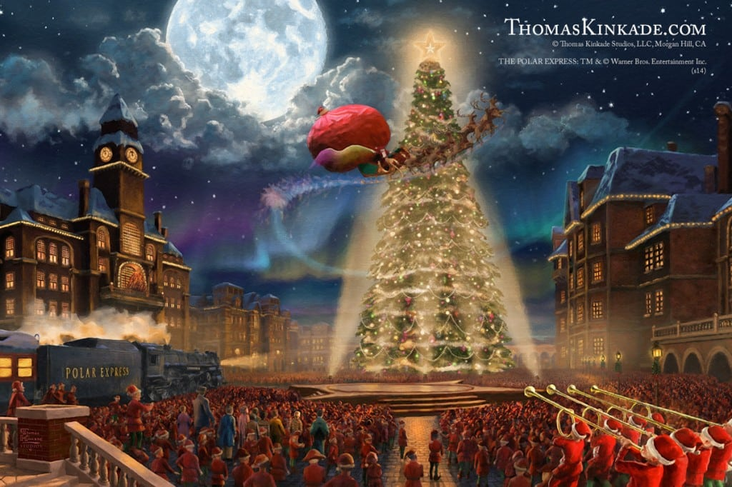 Thomas Kinkade Studios The Polar Express