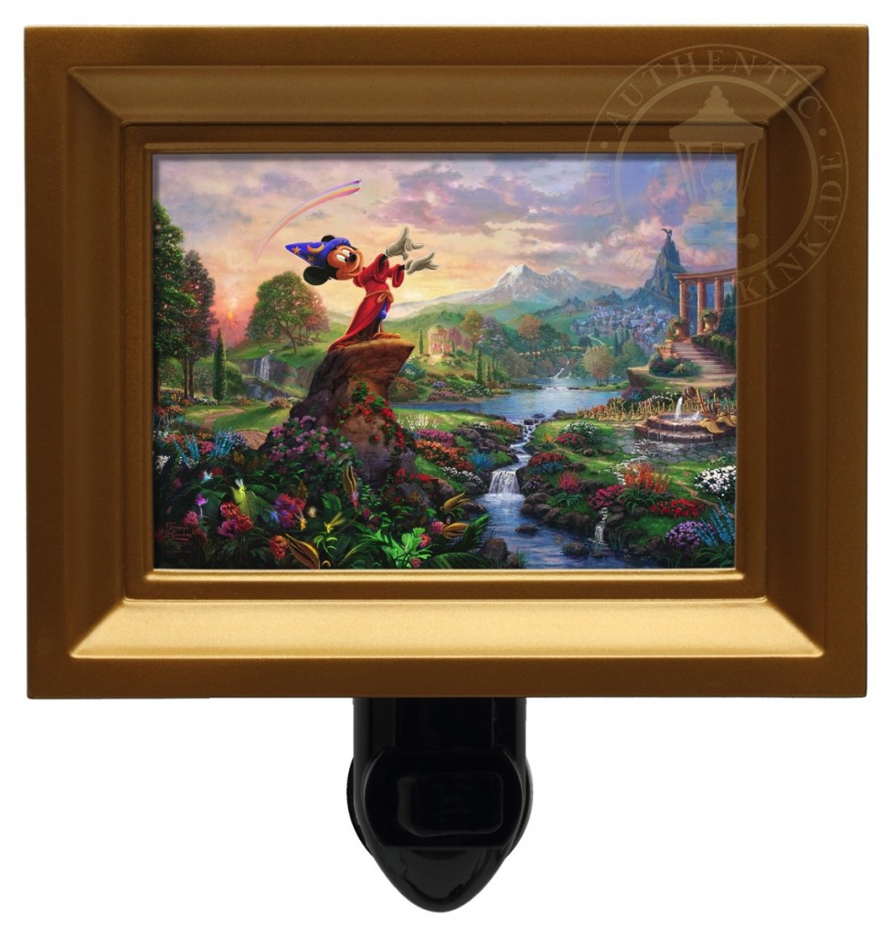 Fantasia – Nightlight (Gold Frame)