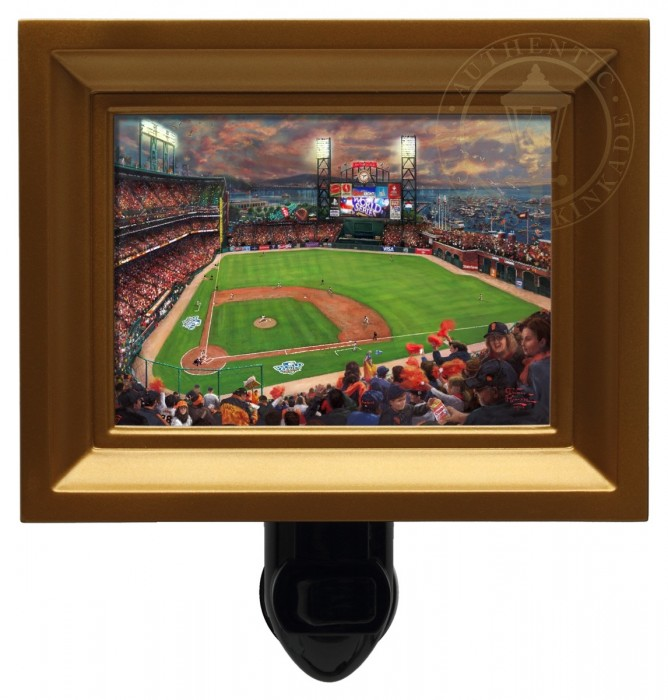 San Francisco Giants, It's Our Time – Nightlight (Gold Frame)