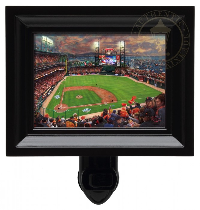 San Francisco Giants, It's Our Time – Nightlight (Black Frame)