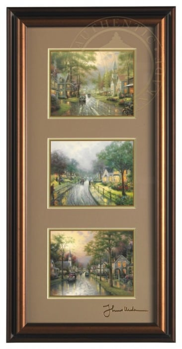 Hometown Collection – Framed Portfolio (Roman Bronze Frame)