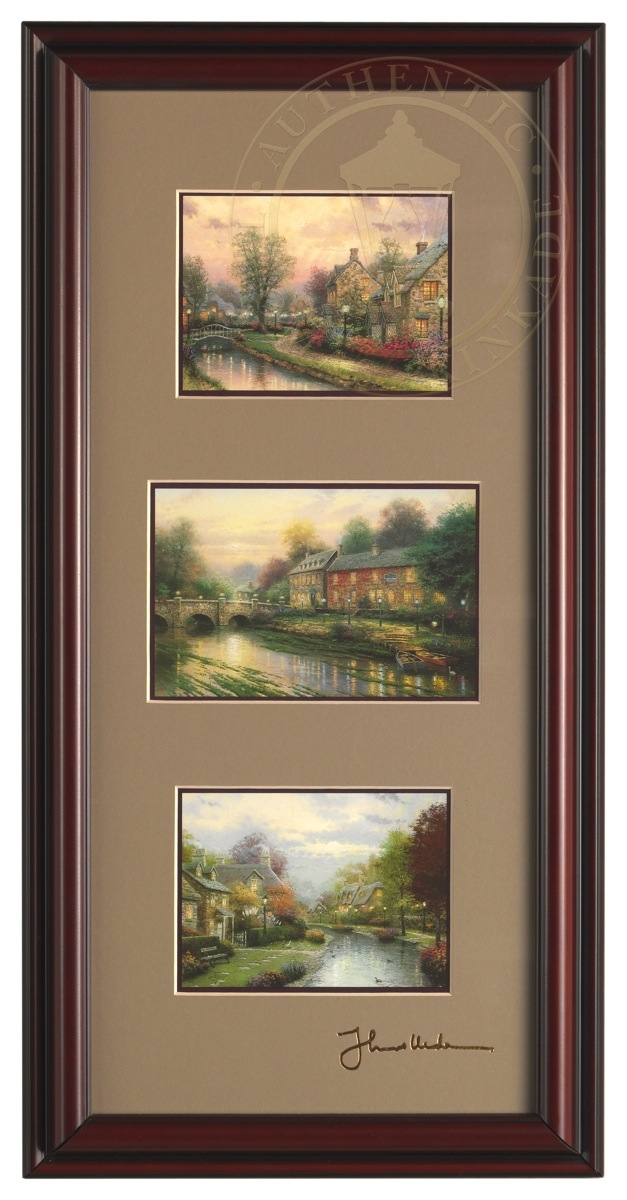 Lamplight Collection – Framed Portfolio (Brandy Black Frame)
