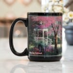 Morning Dogwood  –  Ceramic Mug, 15 oz