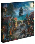 "Pirates of the Caribbean – ""14 x 14″ Gallery Wrapped Canvas"