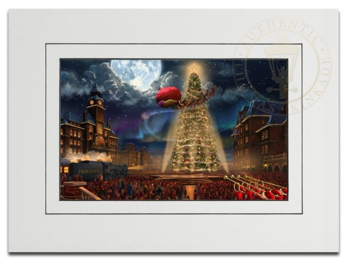 Polar Express, The – 9″ x 12″ Matted Print