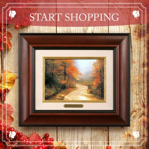 Thomas Kinkade Thanksgiving Sale