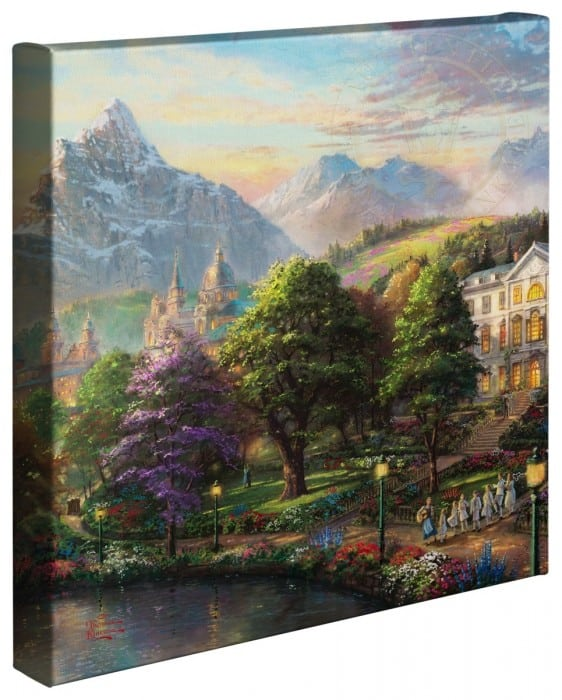 Sound of Music – 14″ x 14″ Gallery Wrapped Canvas