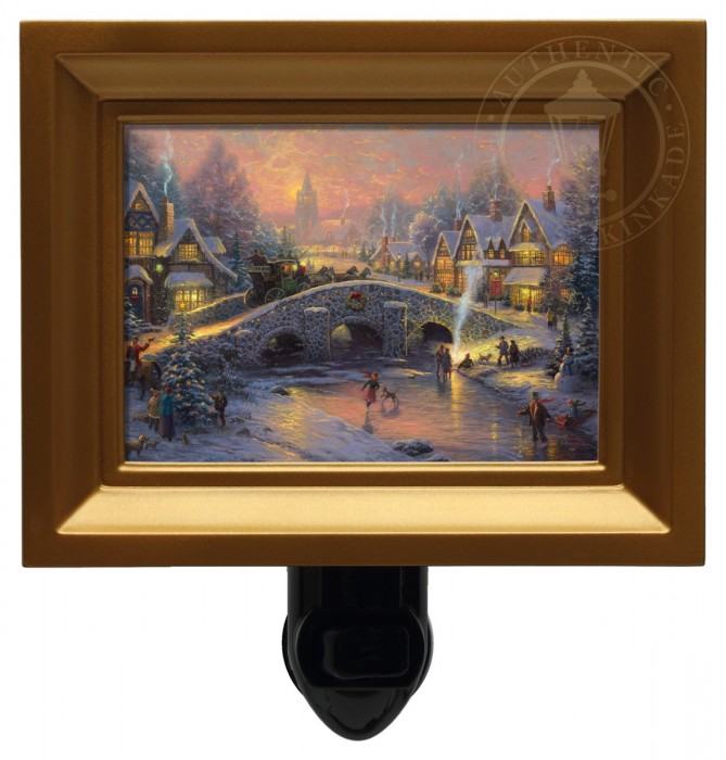 Spirit of Christmas – Nightlight (Gold Frame)