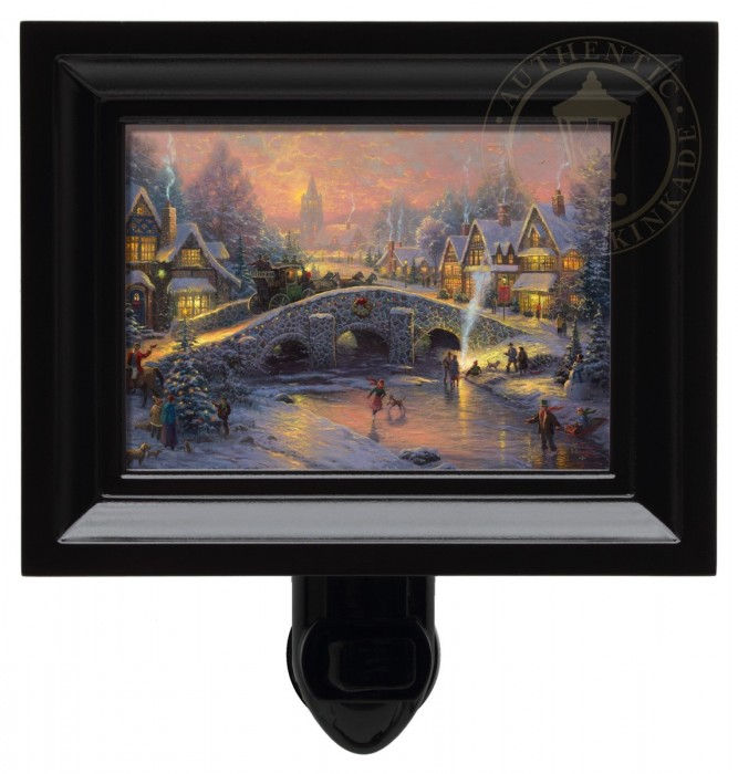 Spirit of Christmas – Nightlight (Black Frame)