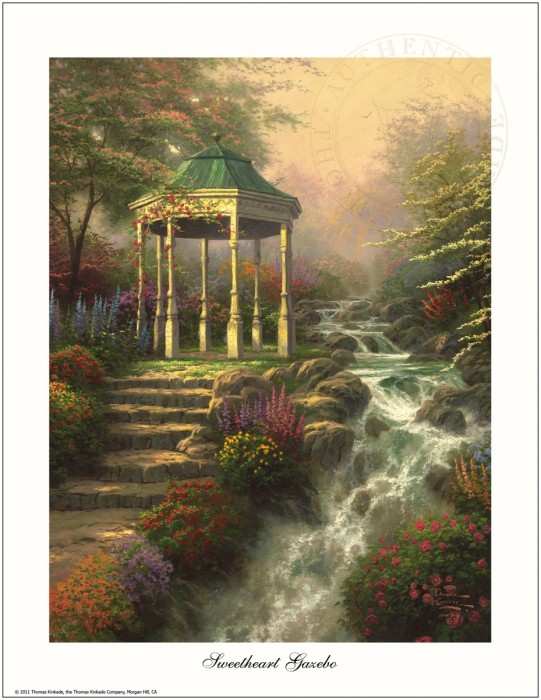 "Sweetheart Gazebo – 8.5"" x 11"" Archival Studio Print"