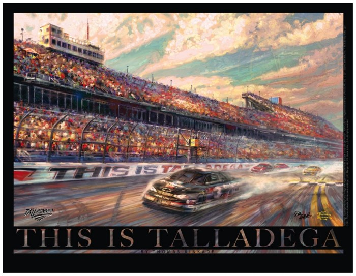 This is Talladega – 18″ x 24″ Archival Poster