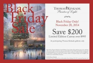Thomas Kinkade Gallery Coupon