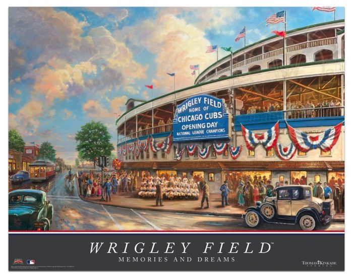 <em>Wrigley Field</em>™: Memories and Dreams – 22″ x 28″ Archival Poster