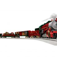 Lionel Trains Thomas Kinkade Christmas Set Giveway