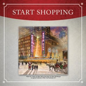 Start Shopping Radio City Music Hall Gallery Wrapped Canvas