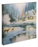 Deer Creek Cottage – 20″ x 20″ Gallery Wrapped Canvas