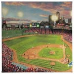 Fenway Park - 14 x 14 Gallery Wrapped Canvas Front View