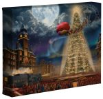The Polar Express™ – 8″ x 10″ Gallery Wrapped Canvas