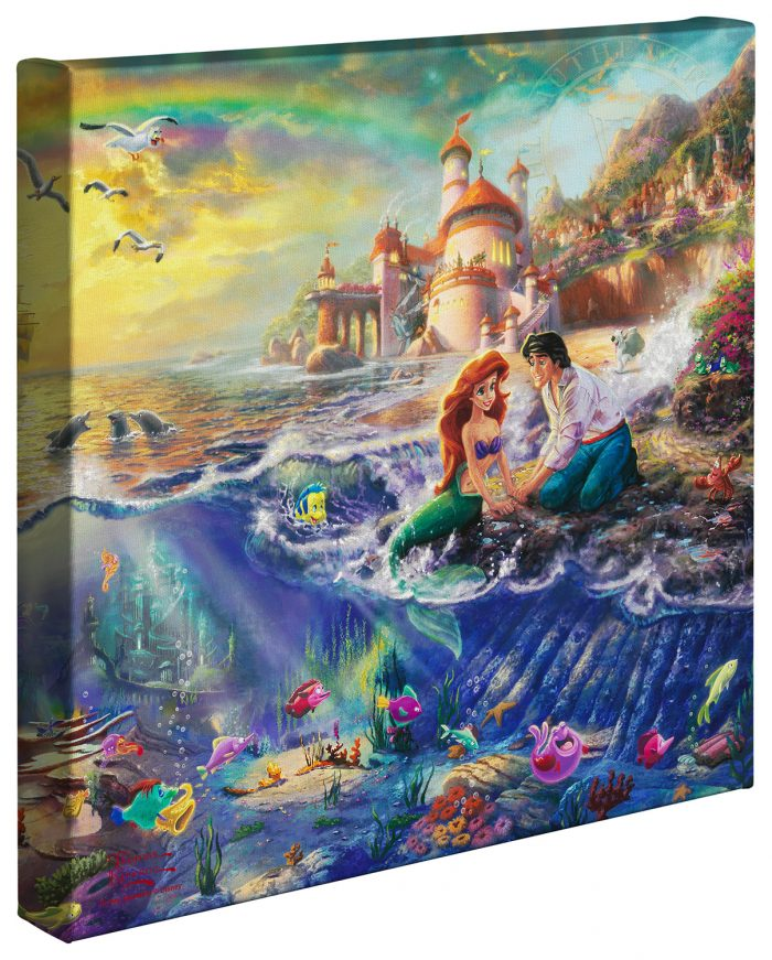Little Mermaid, The – 14″ x 14″ Gallery Wrapped Canvas