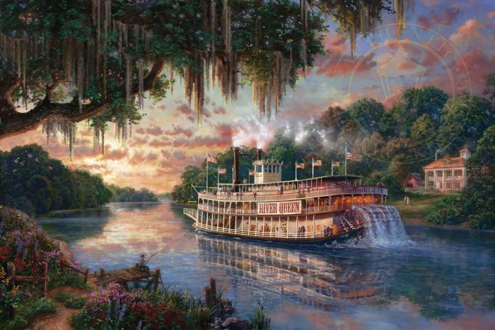 River Queen, The – Limited Edition Canvas