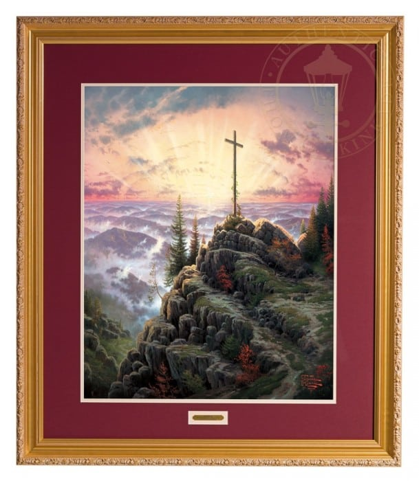 Sunrise – 30″ x 24″ SN Limited Edition Framed Print (Carmella Frame)