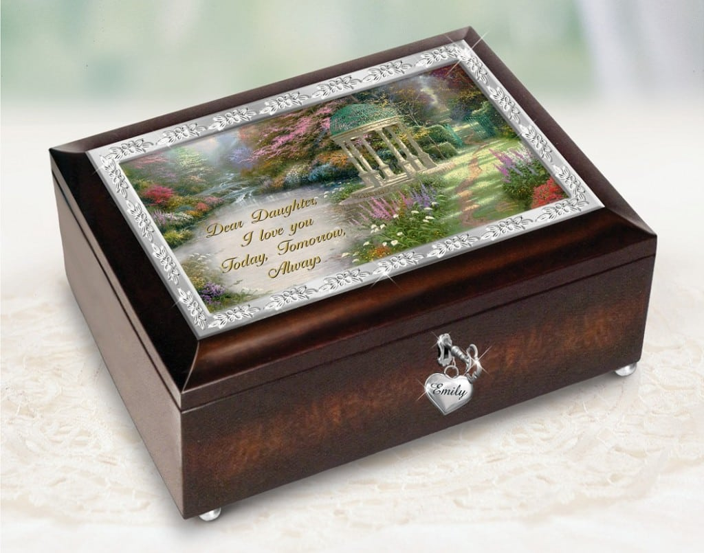 The Bradford Exchange Thomas Kinkade Daughter Music Box